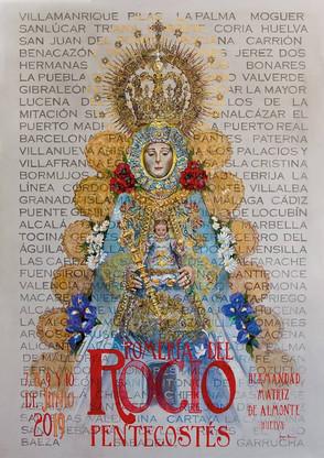 Cartel Anunciador Romería del Rocío 2019
