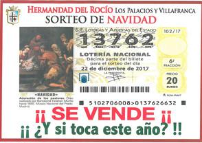 Disponible Loteria de Nuestra Hermandad