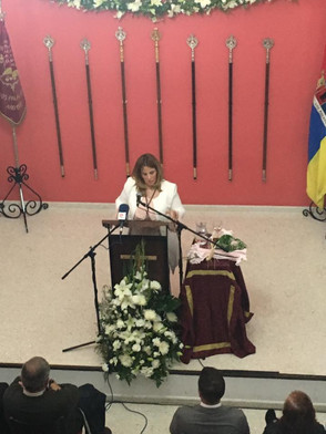 N.H Isabel María Amador, Pregonera Joven Semana Santa.