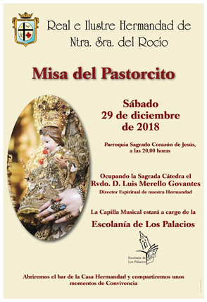 Comunicado: Misa Pastorcito