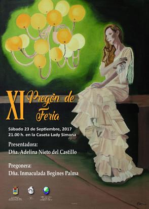 N.H Inmaculada Begines pregonera Feria de Los Palacios 2017