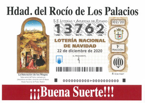 Disponible Loteria de Nuestra Hermandad