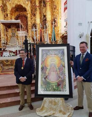 Presentado el Cartel anunciador del Centenario de la Coronación Canónica de la Virgen del Rocío