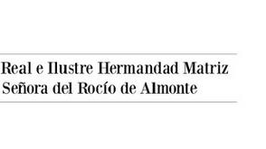 Comunicado Hermandad Matriz de Almonte