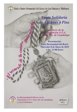 Venta solidaria de Alfileres y pines