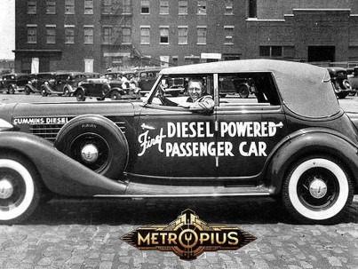 Got dieselpunk on the brain? You may be turning into a Metropian.