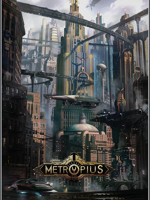 METROPIUS Poster - Metropius City