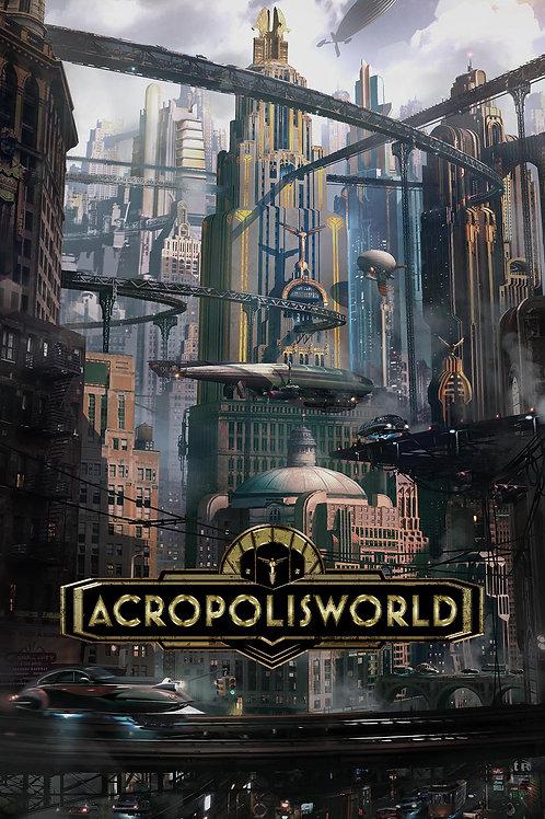 Acropolisworld Hero Poster