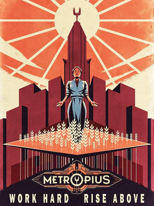 METROPIUS Propaganda Poster