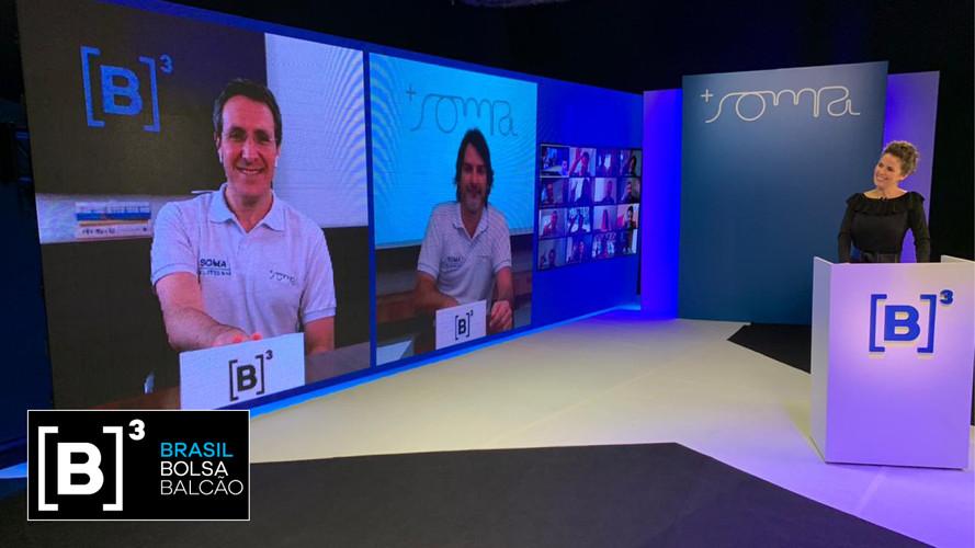 Livestreaming: Produção e transmissão dos IPOs da B3