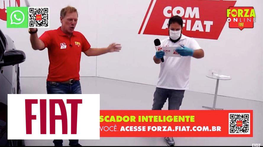 LiveStreaming: Publicidade Ao Vivo direto das concessionárias Fiat