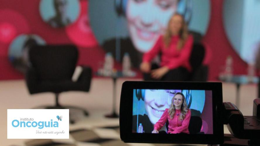 Livestreaming com platéia virtual: Encontro anual Oncoguia