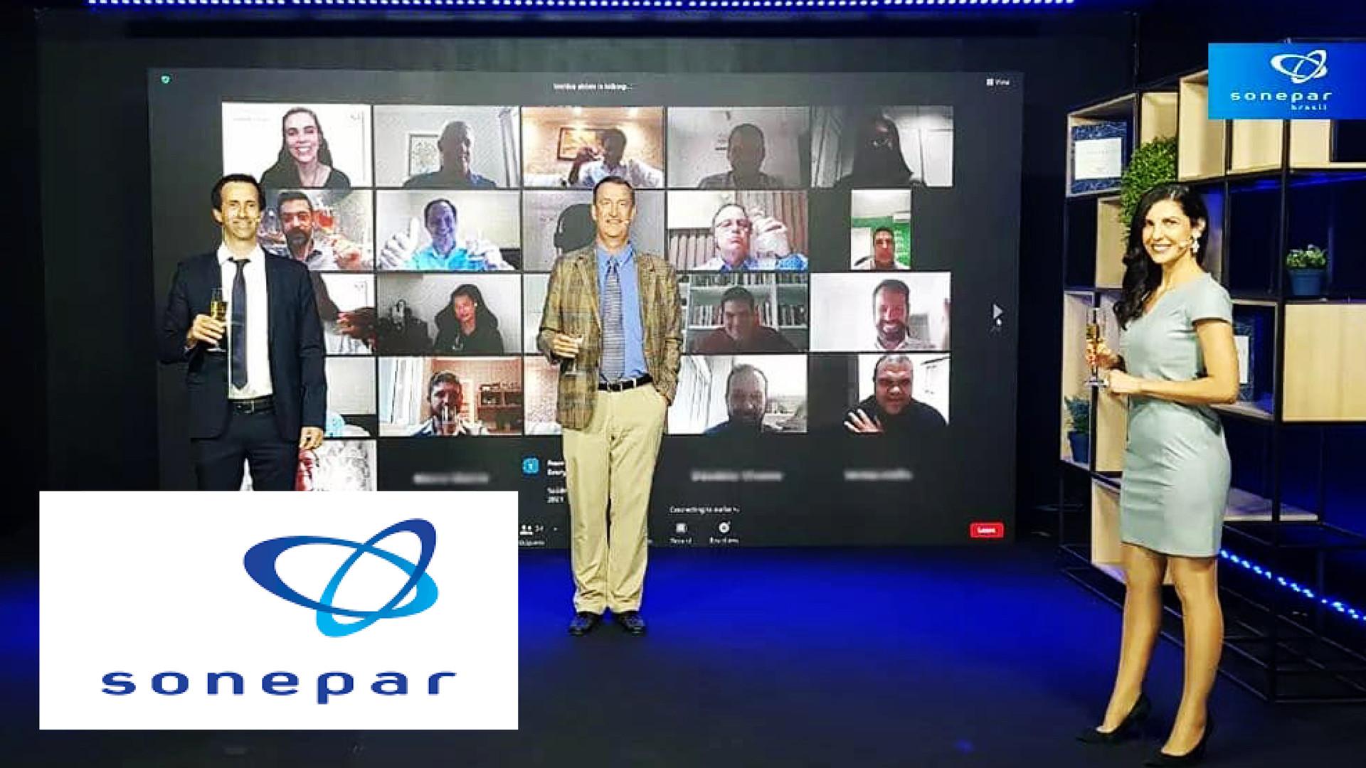 Evento Híbrido: Live de fim de ano da Sonepar com transmissão nacional