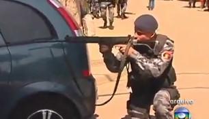 LiveU em operação pelas forças de segurança do Rio de Janeiro.