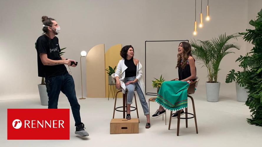 Livestreaming: Lançamento da coleção Primavera/Verão 2021 Renner
