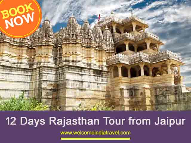 12 Days Rajasthan Tour from Jaipur | rajasthan itinerary for 12 days
