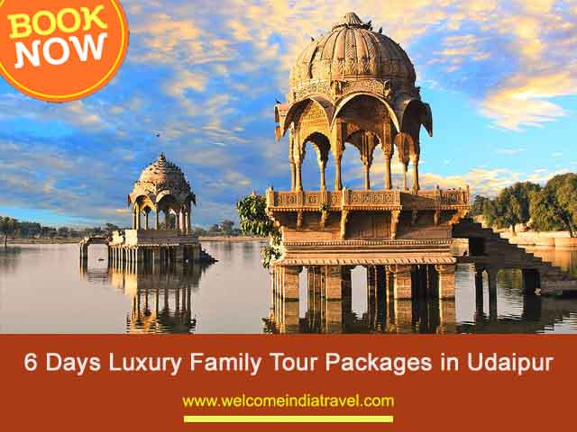 6 Days Luxury Tour Packages in Udaipur