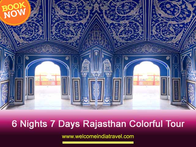 6 Nights 7 Days Rajasthan Colorful Tour Package