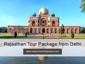 rajasthan tour package from delhi