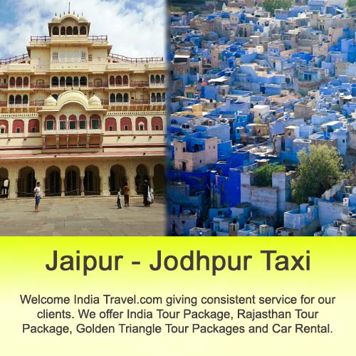 one way taxi from jaipur to jodhpur