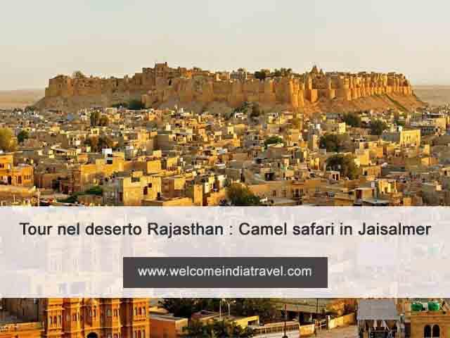 Tour della città di Jaisalmer per l'intera giornata con Camel Safari