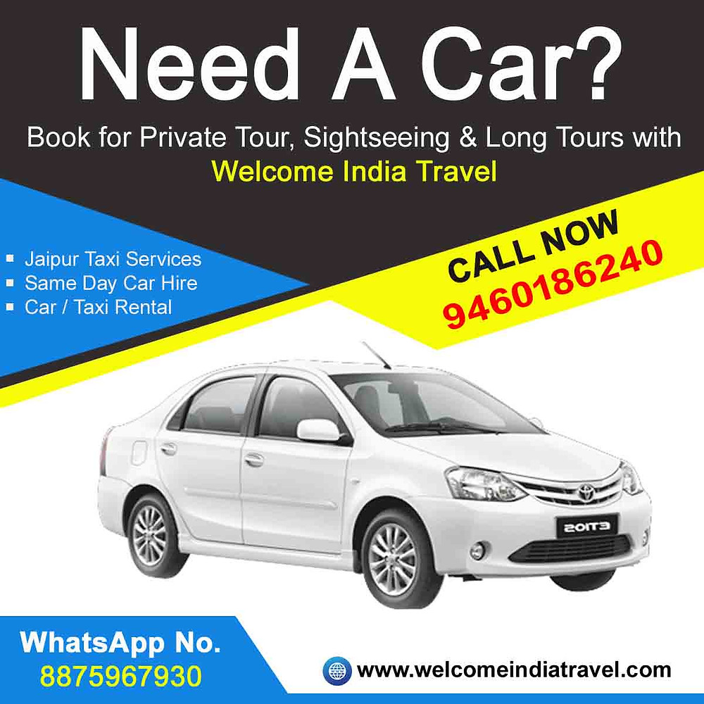 cheap car taxi rental services in jaipur rajasthan
