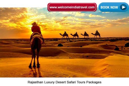 Rajasthan Luxury Desert Safari Tours Packages