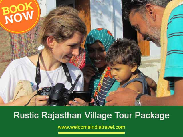 Rustic Rajasthan Village Tour Package from delhi