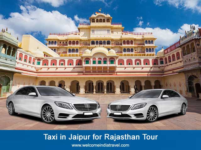Taxi in Jaipur for Rajasthan Tour