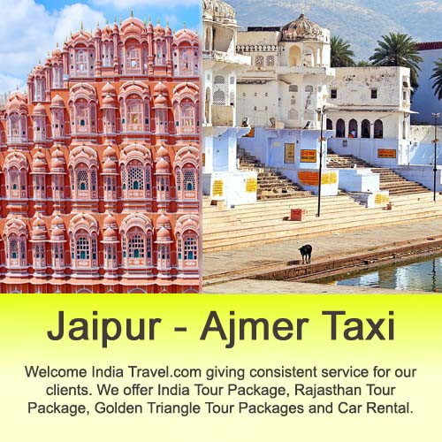 Book your Jaipur to Ajmer Taxi Service