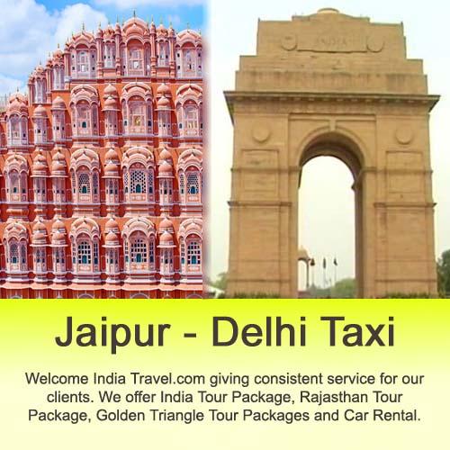 jaipur to delhi cheap taxi