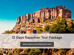 12 days rajasthan tour package