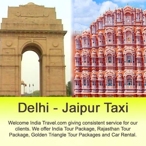delhi jaipur taxi rental