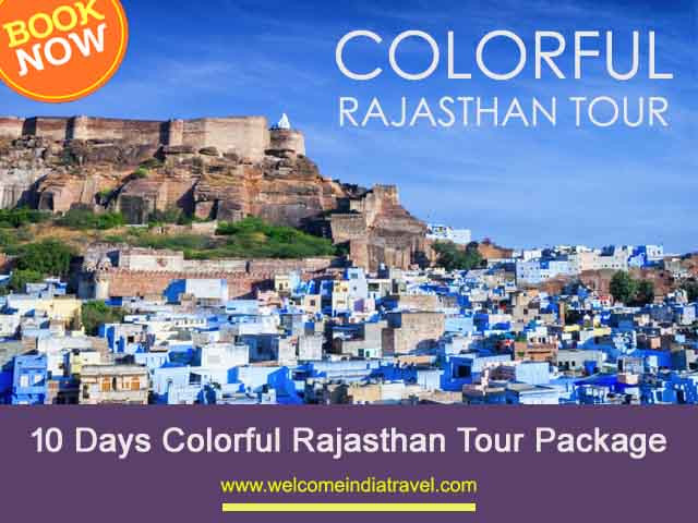 10 Days Colorful Rajasthan Tour Package