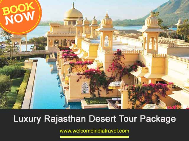 Luxury Rajasthan Desert Tour Package for 9 Days