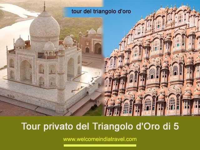 Tour privato del Triangolo d'Oro di 5 | Tour del triangolo d'oro di 5 giorni