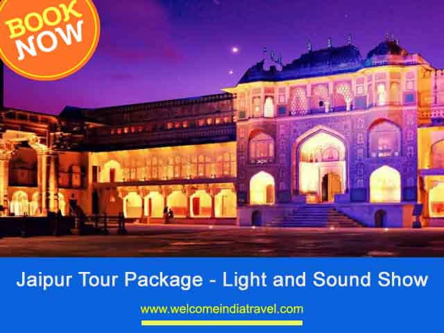Jaipur Night Tour with Amber Fort sound light show