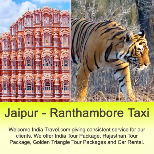 jaipur to ranthambore taxi