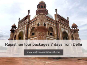 rajasthan tour packages 7 days from delhi