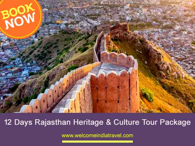 12 Days Rajasthan Heritage & Culture Tour Package