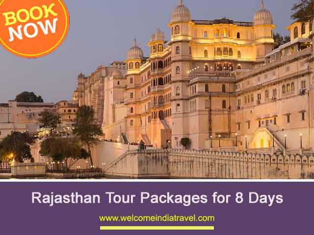 8 Days Rajasthan Tour from jaipur