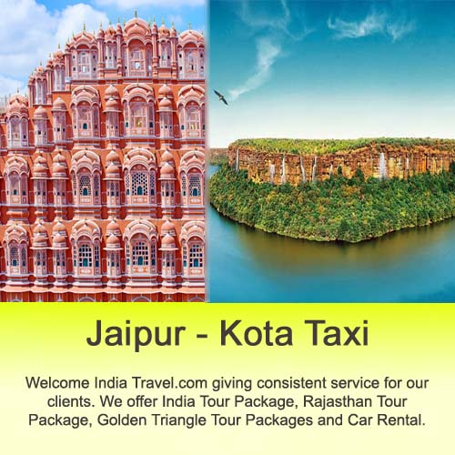jaipur to kota taxi service