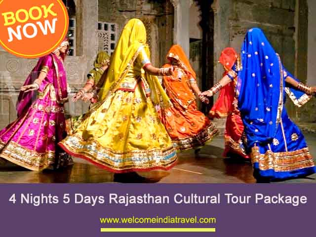 4 Nights 5 Days cultural Tour Package from Jaipur