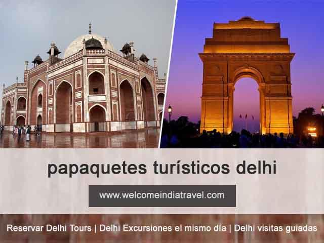 paquetes turísticos delhi
