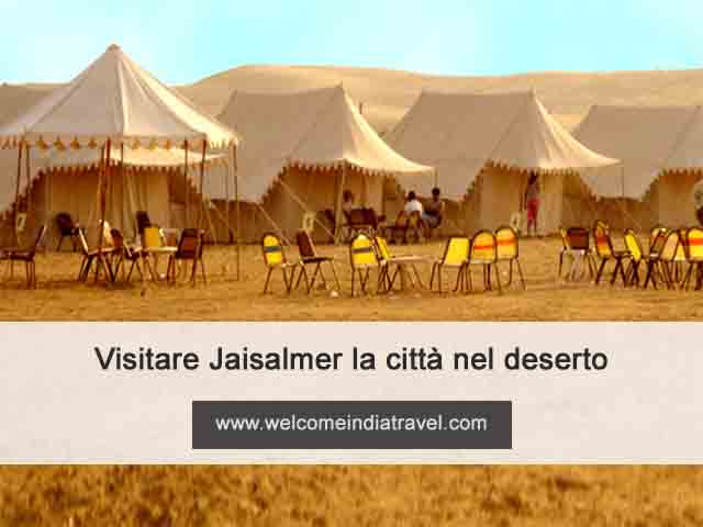Visitare Jaisalmer la città nel deserto
