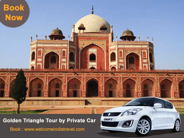 Golden Triangle Tour with Private Car
