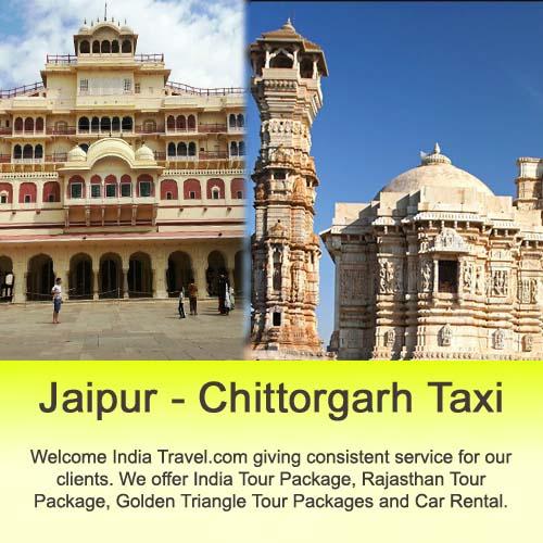 jaipur to chittorgarh by car