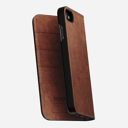 Nomad Horween Leather Wallet Folio for iPhone 8/7