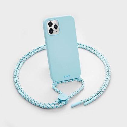 Laut HUEX Pastels Necklace Case for iPhone 12 & iPhone 12 Pro (Blue)