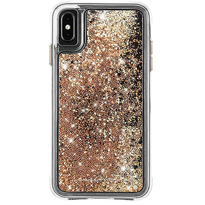 CaseMate WATERFALL Case for iPhone XS Max (Gold)